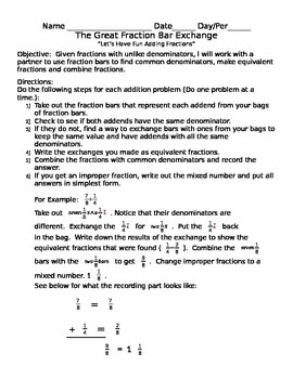 The Great Fraction Exchange