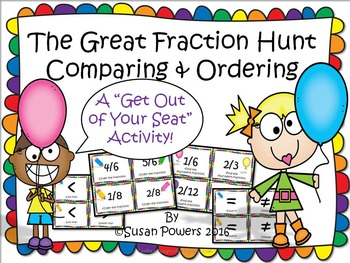 The Great Fraction Hunt for Comparing and Ordering Fractions