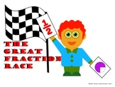 The Great Fraction Race for Second Grade (Common Core Aligned)