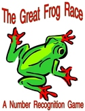 The Great Frog Race Math Game for number recognition