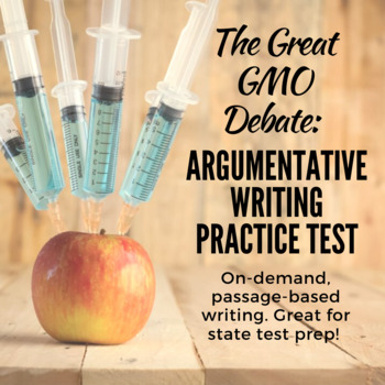 The Great GMO Debate: Argumentative Writing Practice