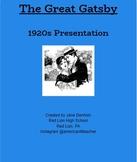 The Great Gatsby 1920s Presentation