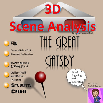 The Great Gatsby : 3D Scene Analysis Project Diorama: Standards Based