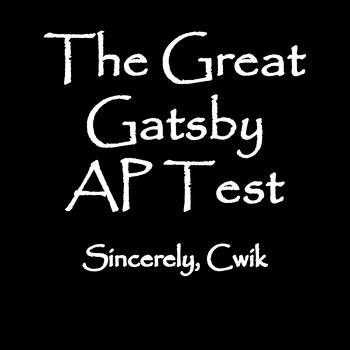 The Great Gatsby AP Test