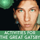 The Great Gatsby Activities: Non-Fiction | Paired Texts | Creative Writing