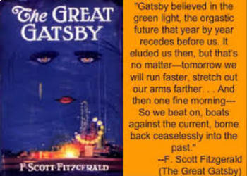 The Great Gatsby American Dream Writing Assignment