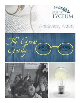 The Great Gatsby Anticipatory Activity