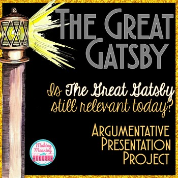 The Great Gatsby - Argument Presentation