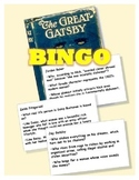 The Great Gatsby BINGO