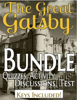 The Great Gatsby BUNDLE (Entire Unit)