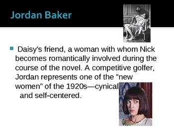 The Great Gatsby - Background Information- Power Point