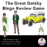 The Great Gatsby Bingo Review Game