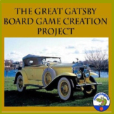 The Great Gatsby Board Game Creation Project