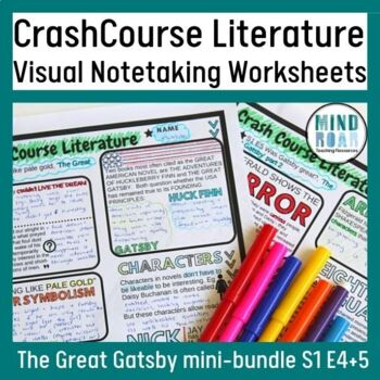 The Great Gatsby Bundle: Crash Course Literature S1 Eps 4 and 5
