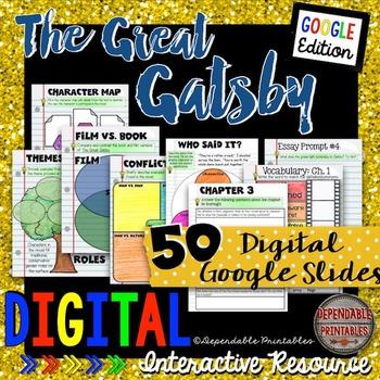 The Great Gatsby Bundle: Digital Google Edition