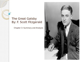 The Great Gatsby Chapter 3 PowerPoint