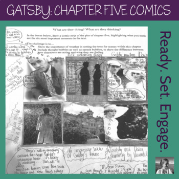 The Great Gatsby: Chapter Five Comic Strip Mini-Project
