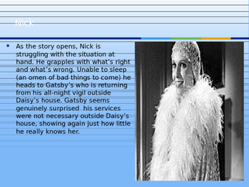 The Great Gatsby Chapter 8 PPT