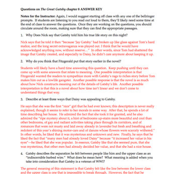 the great gatsby chapter 8 questions quiz study guide activities