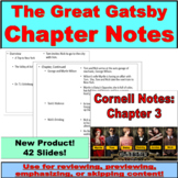 The Great Gatsby Chapter Notes PowerPoint