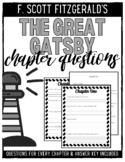 The Great Gatsby Chapter-by-Chapter Questions