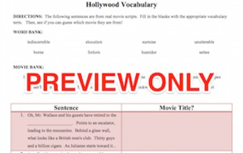 The Great Gatsby - Chapters 08 & 09 - Hollywood Vocabulary