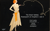The Great Gatsby: Chapters 1 and 2 Powerpoint