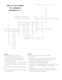 The Great Gatsby Chapters 2-3 Vocabulary Crossword