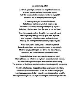 Great Gatsby Ch. 4-6 Writing Rubric w/ Example