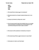 The Great Gatsby Chapters 8 and 9 Quiz and Answer Key