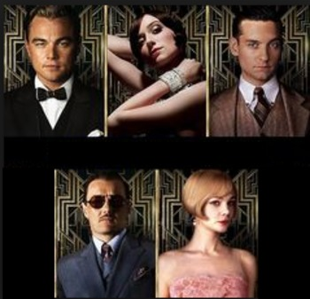 The Great Gatsby - Character Profiles Bundle