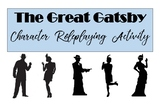 The Great Gatsby Character Role-Play Activity
