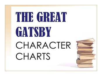 The Great Gatsby Characterization Charts