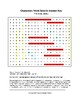 The Great Gatsby Characters Word Search (Grades 9-12) with Key