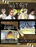 The Great Gatsby Clip Art Package