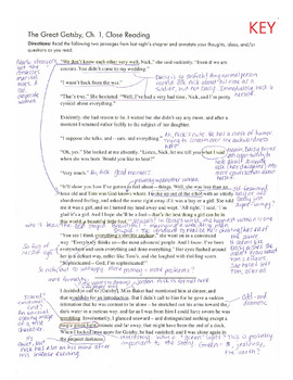 great gatsby reading log Baz luhrmann's adrenaline-fueled adaptation of the great gatsby may  mr  west compares reading trimalchio to hearing a familiar song.