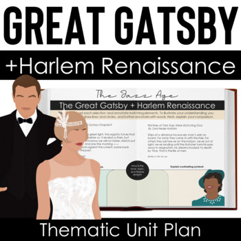 The Great Gatsby Color Analysis Unit Plan + Informational