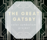 The Great Gatsby Color Project