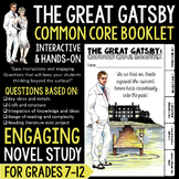 The Great Gatsby: Common Core Booklet