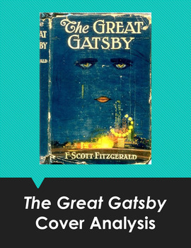 The Great Gatsby Cover Art Analysis HyperDoc