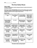 The Great Gatsby Creative Project with Rubric