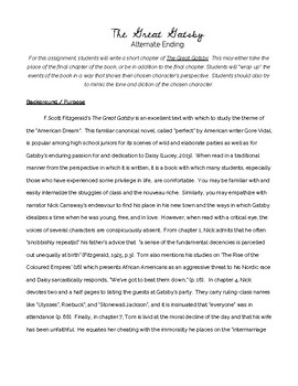 The great gatsby creative writing prompts cover letter examples web developer