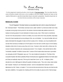 The Great Gatsby Creative Writing Assignment - Alternate Ending