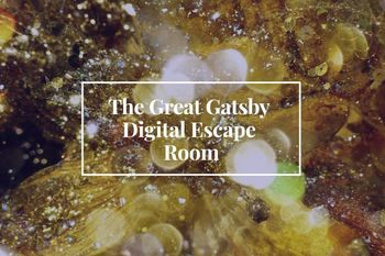 The Great Gatsby Digital Escape Room! Answer Key Included!