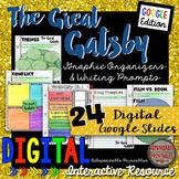 The Great Gatsby: Digital Graphic Organizers & Writing Pro