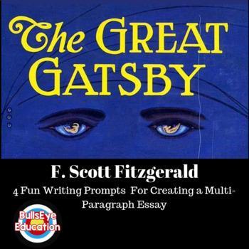 The Great Gatsby Essay 1