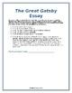The Great Gatsby Essay