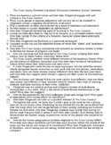 The Great Gatsby Essential Questions/ Journal Questions/ D