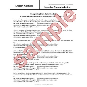 The Great Gatsby F Scott Fitzgerald Character Analysis Activities