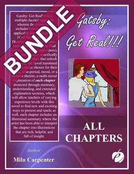 """GREAT GATSBY - """"All-Inclusive Comprehensive Turn Key"""" Instructional BUNDLE"""
